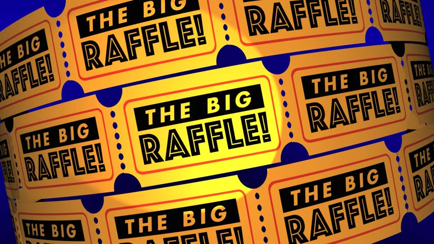 The Big Raffle Contest Win Prize Get Tickets 3d Animation | Shutterstock HD Video #23740690
