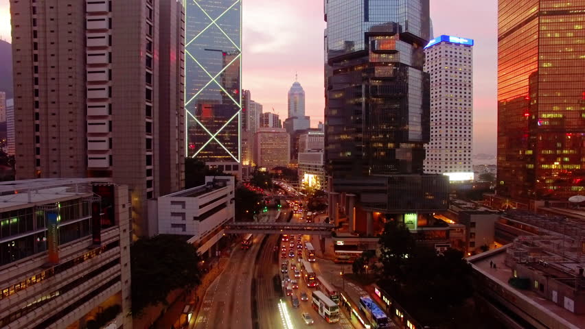 Hong Kong by drone. | Shutterstock HD Video #23841025