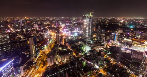 Ho Chi Minh City Circa 2016 - Time lapse of Ho Chi Minh City, formerly Saigon at night. Check out my portfolio for more great 4K and HD video and time lapse from Vietnam and the rest of the world.