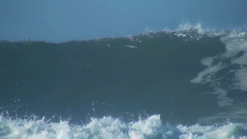 Ocean very big wave