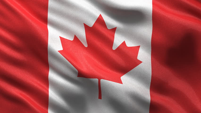 Canadian Flag HD. Looped. Stock Footage Video 1821545 ...