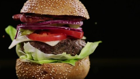 Burger Stock Video Footage 4k And Hd Video Clips Shutterstock