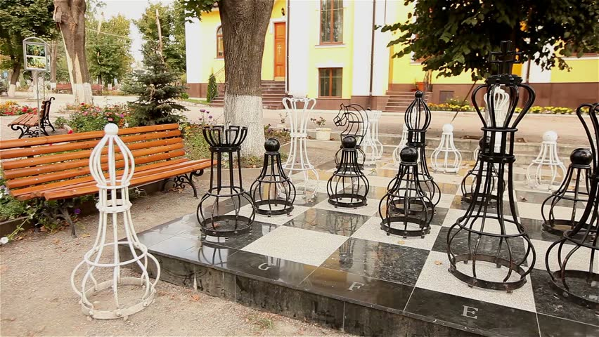 Outdoor Chess Table And Chairs Ideas