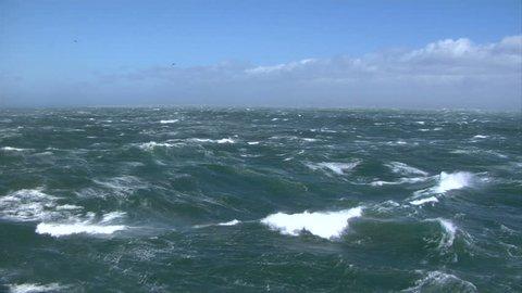 Stormy seas Wide