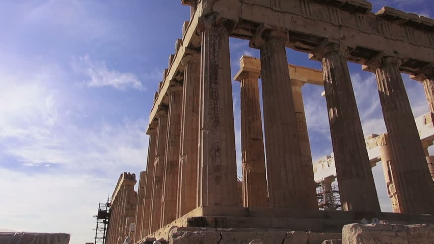 Acropolis in Athens, Greece | Shutterstock HD Video #24525275
