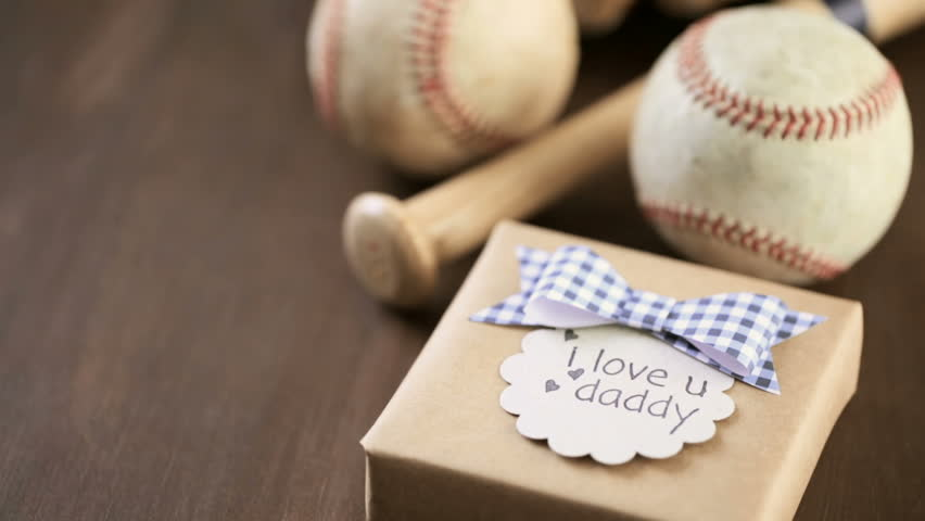 Celebrating Father's Day for baseball dad. | Shutterstock HD Video #24575435