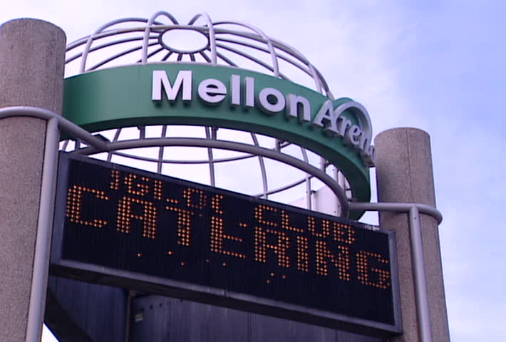 PITTSBURGH - Circa 2002: Mellon Arena in Pittsburgh in 2002. Currently known as the Civic Arena.