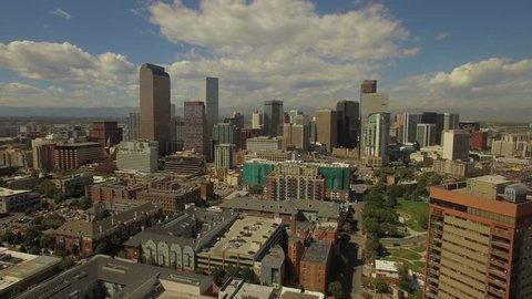 Aerial Colorado Denver September 2016 4K