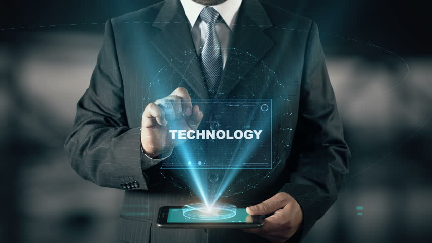 Businessman with Technology hologram concept choose System from words | Shutterstock HD Video #24657305