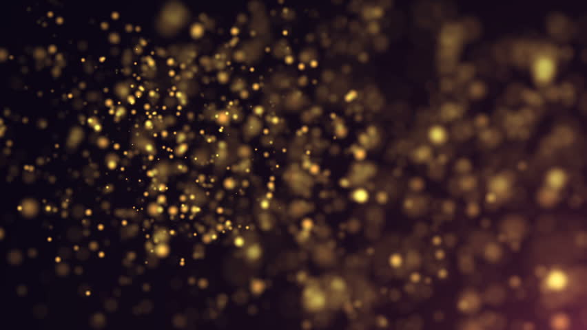 Abstract Particles Background. Loop animation
