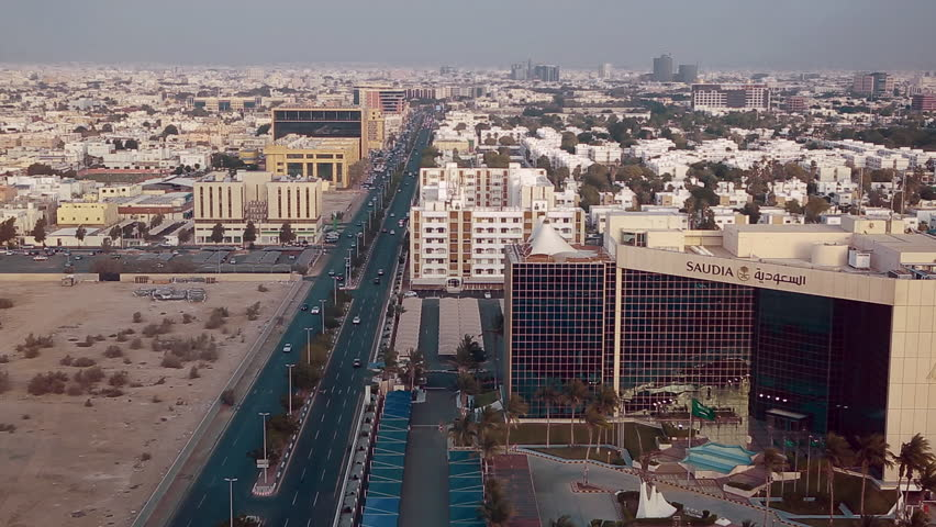 Jeddah Saudi Arabia Circa Stock Footage Video 100
