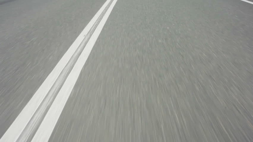 Line On The Road, Close-up, Fast movement | Shutterstock HD Video #24962645