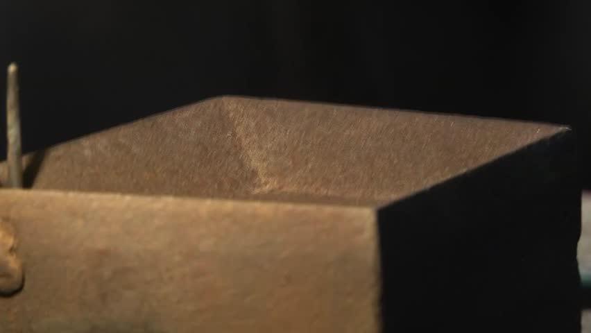 Crystal making (close-up press machine detail)   Shutterstock HD Video #25113545