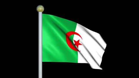 Drapeau Algerie Stock Video Footage 4k And Hd Video Clips