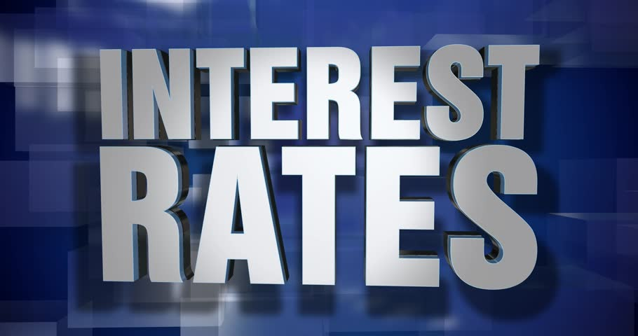 A blue dynamic 3D Interest Rates transition element and title page animation. 5 and 2 second options included with optional luma matte for both.	 	 | Shutterstock HD Video #25171175