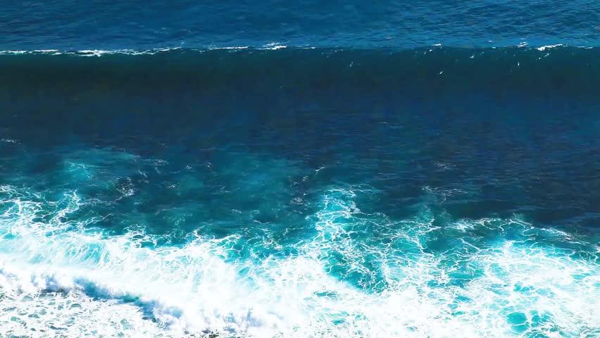 Ocean waves in bali island | Shutterstock HD Video #25272968