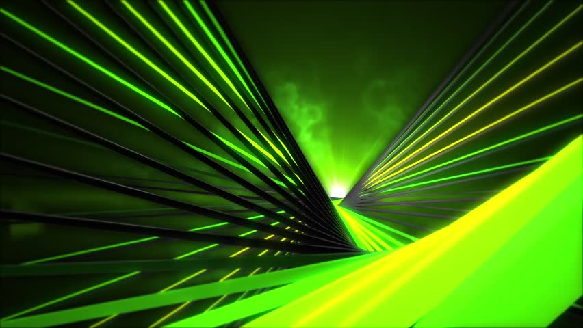 Kinetic Helix 30 VJ Loops Pack is a collection of  full HD Seamless VJ Clips featuring kinetic helixs rotating on an axis with Green and lime colors.