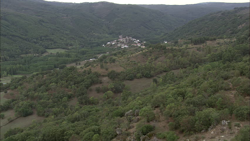 Montemayor Del Rio And Castle Stock Footage Video 100 Royalty Free 25543745 Shutterstock