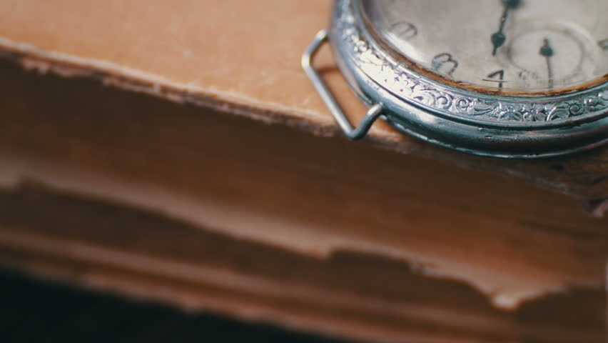 Sports Wallpapers Backgrounds Hd By Pocket Books: Vintage Pocket Watch Next To The Old Faded Book,Vintage