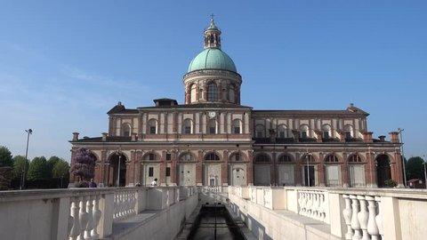 """Sanctuary """"Santa Maria del Fonte"""" in Caravaggio, Bergamo - Italy."""