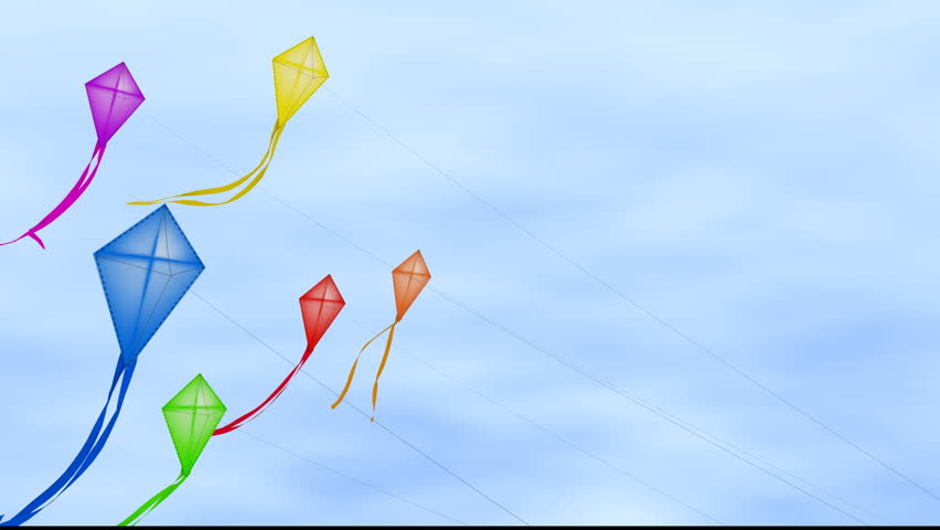 Fly A Kite Stock Footage Video | Shutterstock