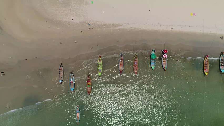 Boat sailing, motor boat in beautiful sea | Shutterstock HD Video #26052560