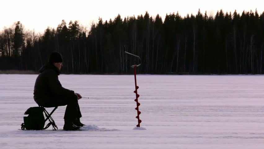 The Ice Fisher