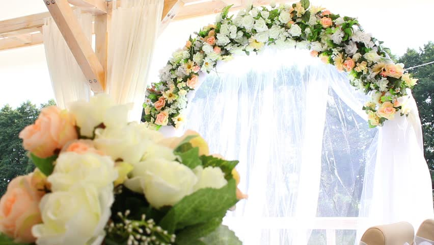 Wedding decorations made of flowers stock footage video 2620055 wedding decorations made of flowers stock footage video 2620055 shutterstock junglespirit Gallery