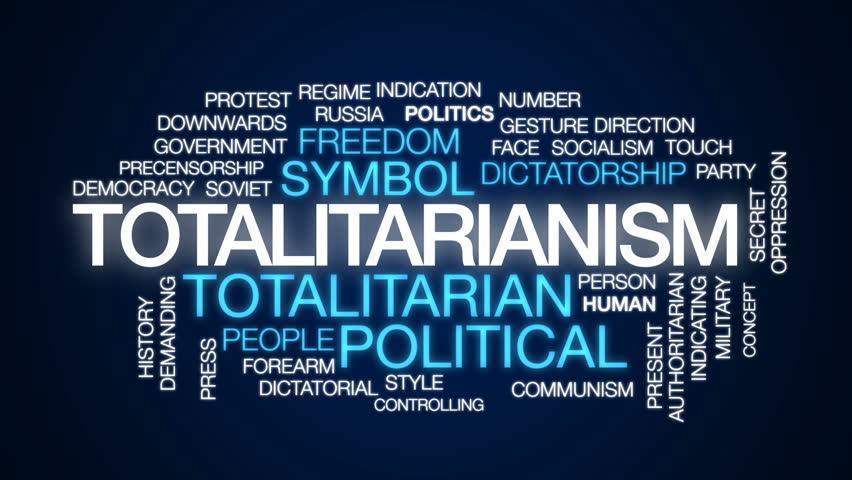 Header of totalitarianism