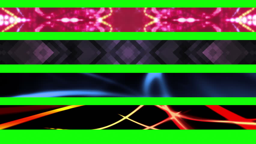 Four Looping Abstract Green Screen Lower Thirds - HD stock footage clip  sc 1 st  Shutterstock & Lower 3rd Eight Teen GBS Abstract Looping Lower Thirds Use ... azcodes.com
