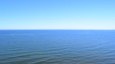 Beautiful background of sea and sky blue
