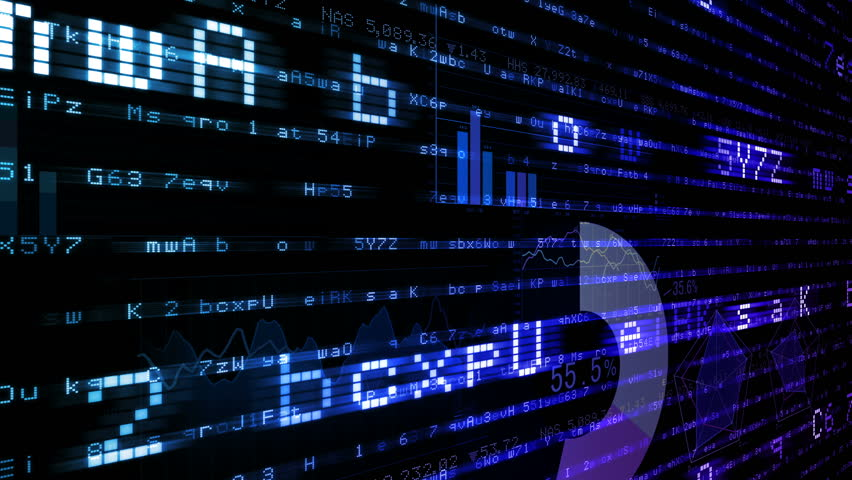 Business data graph digital world space number text. | Shutterstock HD Video #26364146