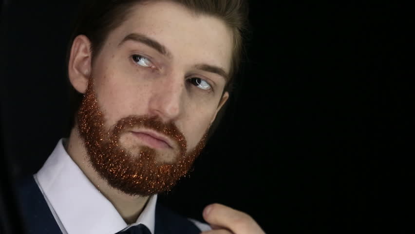 Handsome Bearded Man With Fair Stock Footage Video 100 Royalty Free 26459855 Shutterstock