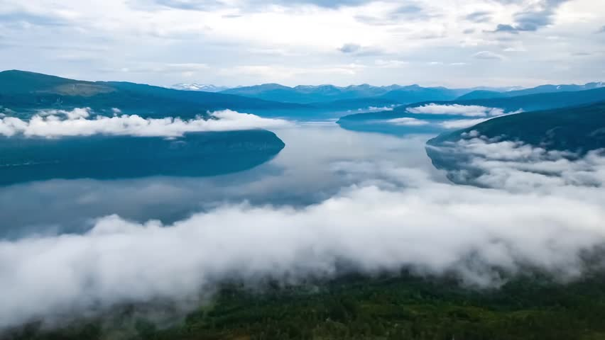 Aerial footage Beautiful Nature Norway. | Shutterstock HD Video #26496695