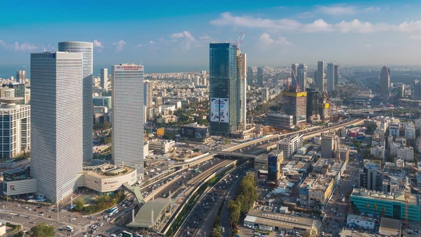 Tel Aviv Hd: May Stock Footage Video (100% Royalty