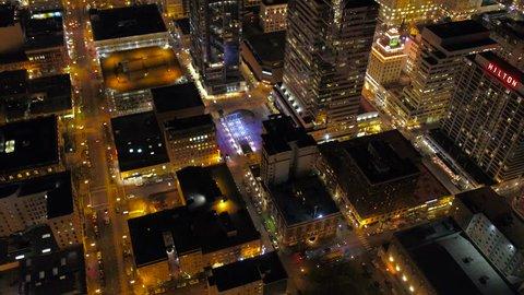 Aerial Oregon Portland Nigh