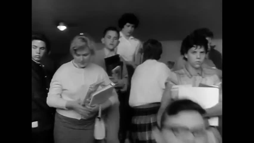 1950s: High school students enjoy their education in Alaska in 1951.