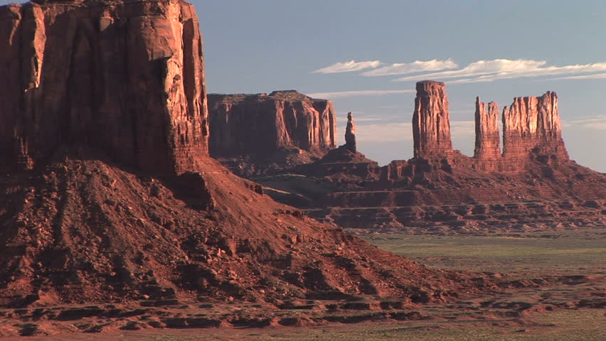 Monument Valley Navajo Tribal Park, time lapse