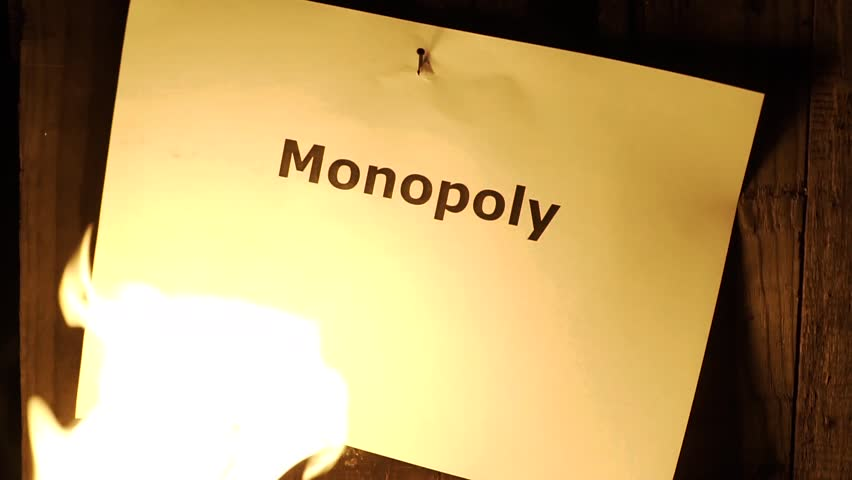 flaming word Monopoly
