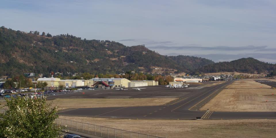 Small Airport in Roseburg Oregon | Shutterstock HD Video #26928505