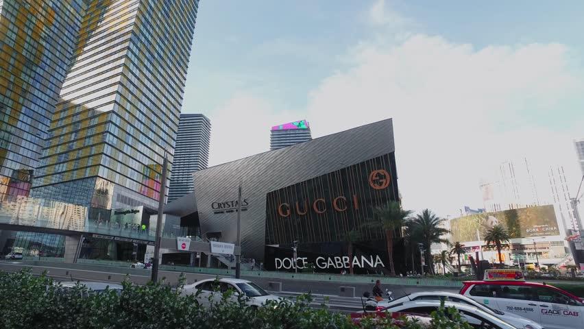 The modern hotels at City Center of Las Vegas - LAS VEGAS / NEVADA - APRIL 22, 2017 | Shutterstock HD Video #27032815