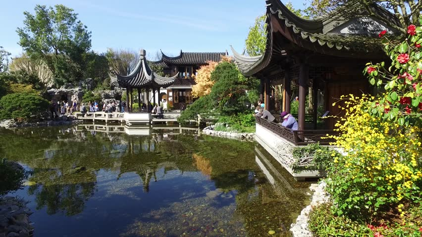 classical asian garden stock footage video 2052707 | shutterstock