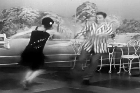 1950s: Old fashioned 1920s dancing is featured in this 1940s soundie musical.