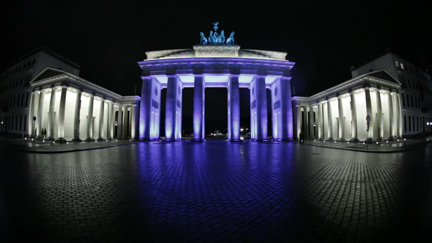 Brandenburger Tor 1080p HD (Brandenburg Gate), famous landmark in Berlin, Germany