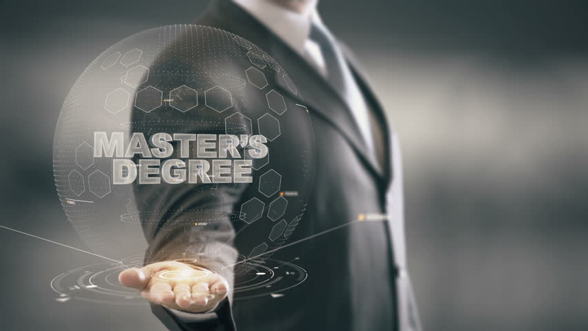 Header of master's degree