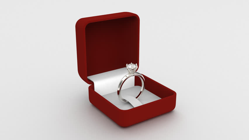 Wedding Ring Box.3d Video Of Ring Box Stock Footage Video 100 Royalty Free 27211105 Shutterstock