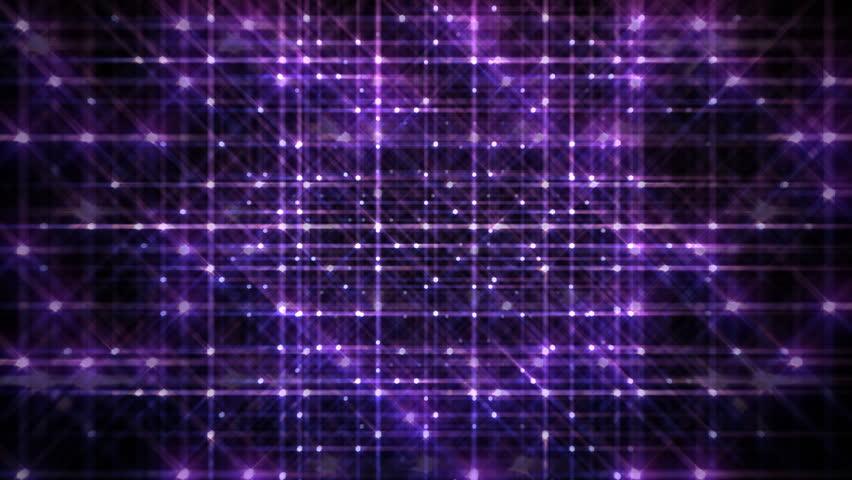 Fractal Tiles On Colorful Plasma Shifting Across An