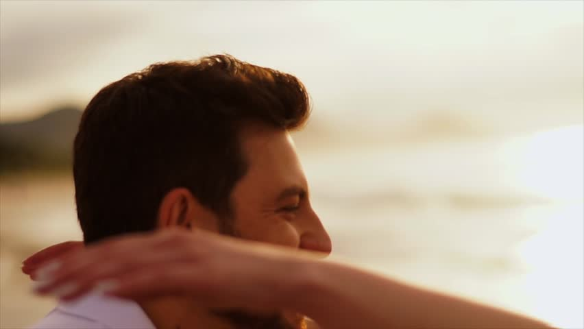 Romantic couple having fun on the beach | Shutterstock HD Video #27459565
