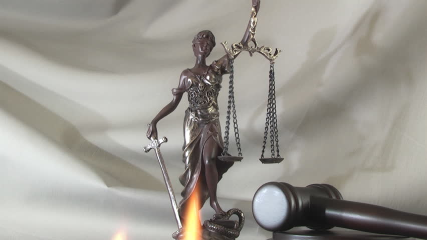 Stock Video Of Law Concept With Themis Symbol Of 27481759