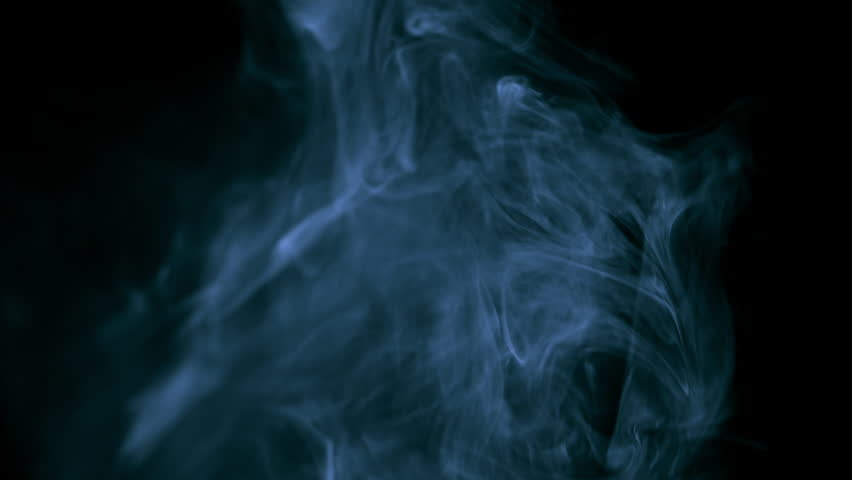 White smoke on black isolated background | Shutterstock HD Video #27500935